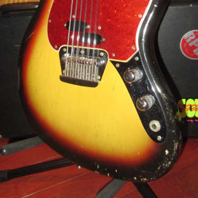 Vintage Original 1966 Fender Electric XII 12 String Electric Solidbody Sunburst for sale