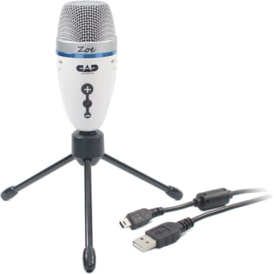 CAD Audio ZOE USB Condenser Recording Microphone w/ TrakMix™ Headphone Output