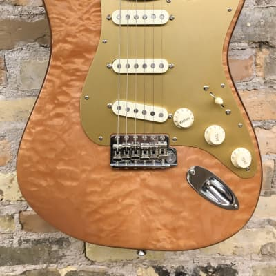 Fender Rarities Series Quilt Maple Top American Original '60s Stratocaster 7.8 lbs Natural 2019 for sale
