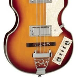 Jay Turser JTB-2B Series Electric Bass Guitar, Vintage Sunburst for sale