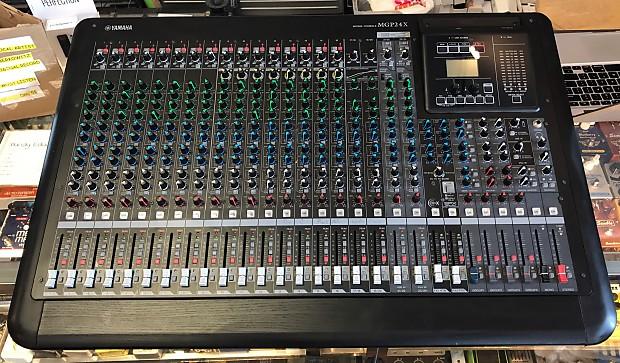 Yamaha mgp24x mixer boston guitar reverb for Yamaha mgp24x 24