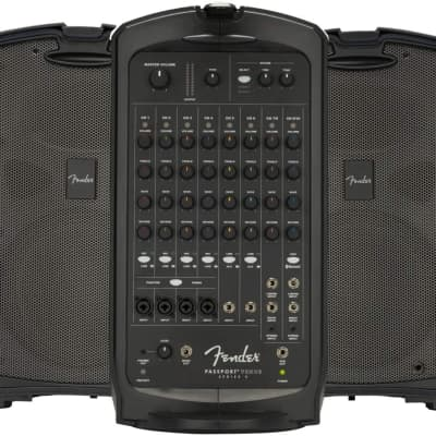 Fender Passport Venue Series 2 7-Channel 600-Watt Portable PA System