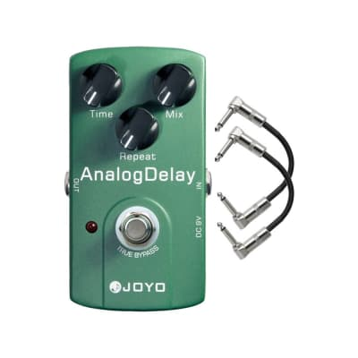 Joyo JF-33 Analog Delay Guitar Effect Pedal with Patch Cables for sale