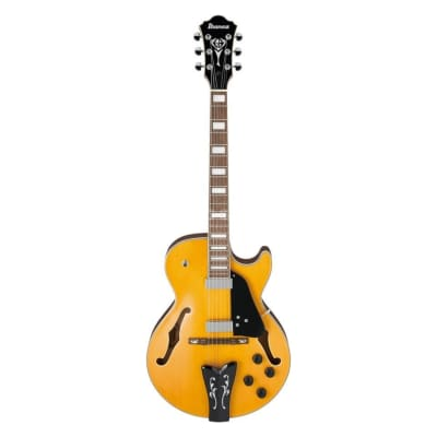 Ibanez George Benson Signature GB10EM Hollowbody Electric Guitar - Antique Amber for sale