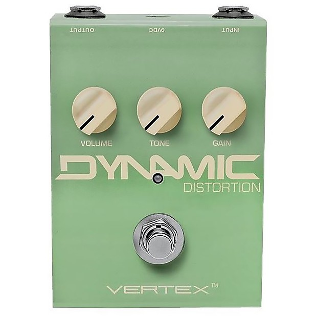 Vertex Effects Dynamic Distortion Touch Sensitive Overdrive NEW