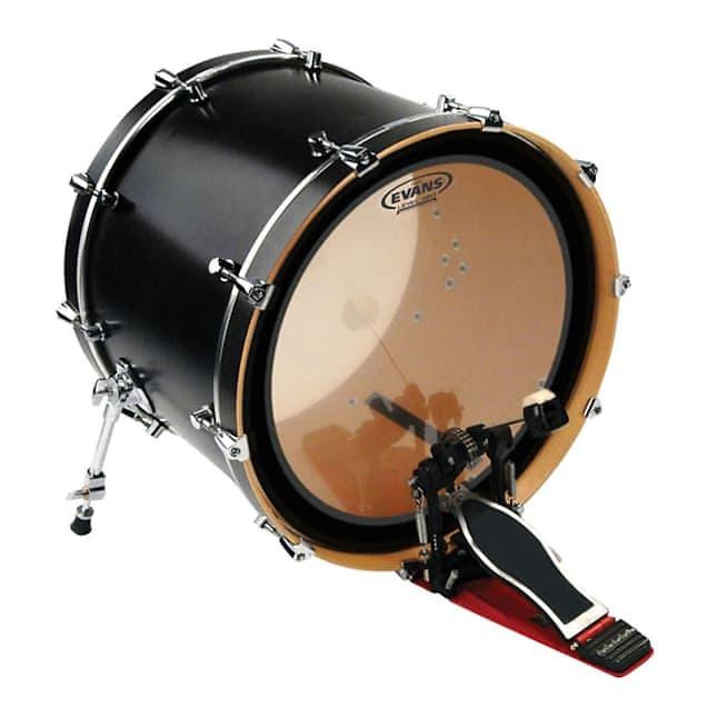 evans emad clear bass batter drum head 20 reverb. Black Bedroom Furniture Sets. Home Design Ideas
