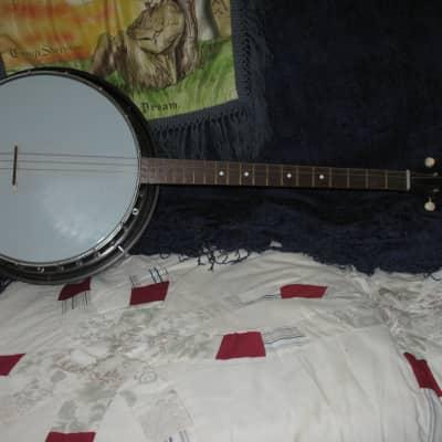 1960's Paramount Tenor 4 string banjo w/ full Bakelite body for sale