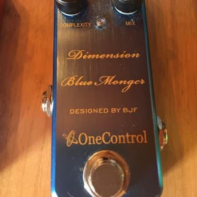 One Control Dimension Blue Monger 2018 Medium Blue metallic for sale