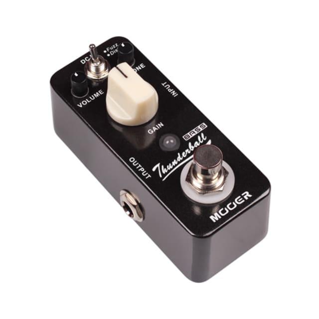 Mooer Thunderball Micro Bass Fuzz Pedal (Fuzz/Distortion, similar to EHX Bass Blogger) image