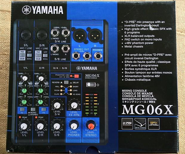 Yamaha Mic On Menu