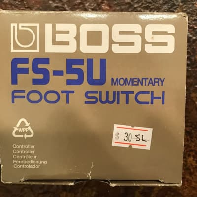 "Boss ""FS-5U Momentary Foot Switch"""