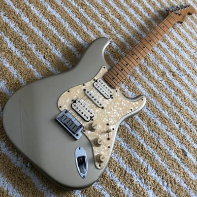 Fender Big Apple Stratocaster 1997 Inca Silver for sale