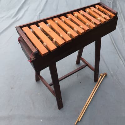 12 Note Marimba Primitive Handmade with Mallets WATCH YouTube Video Demo!