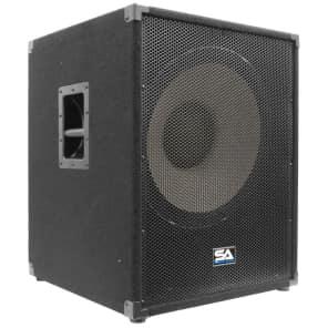 "Seismic Audio Enforcer-II Passive 1x18"" 1000w Subwoofer Speaker"