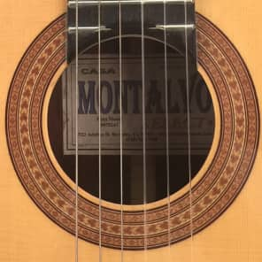 Casa Montalvo Fleta Model Classical Guitar 2002 for sale
