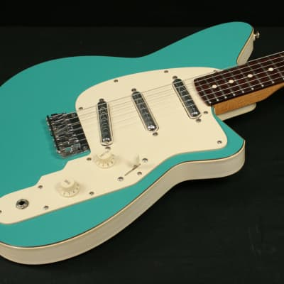 Reverend Spy 1998 57 Turquoise - very low serial number JFN initials for sale