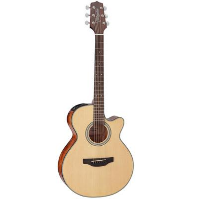 Takamine GF15CE Mahogany Dreadnought Cutaway Natural Electro Acoustic Guitar for sale