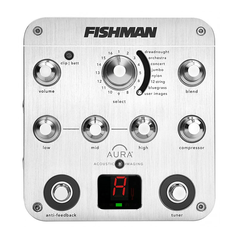 Fishman PRO-AUR-SPC Aura Spectrum DI Acoustic Guitar Imaging / Preamp Pedal
