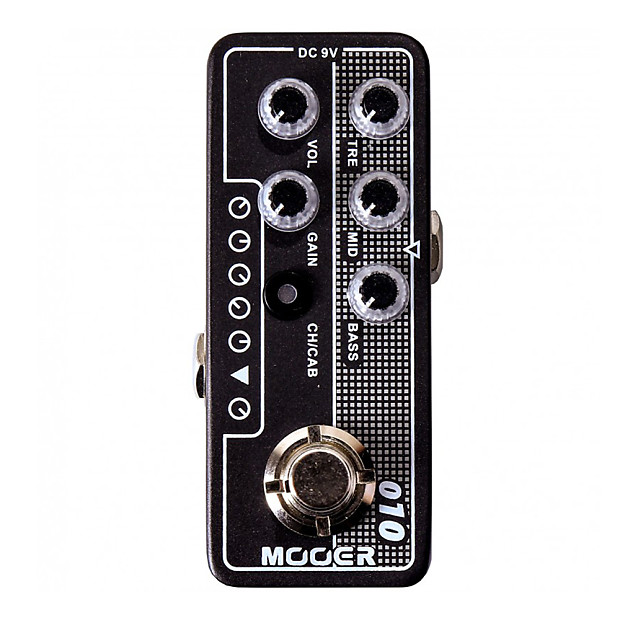 mooer micro preamp 010 two stones guitar effects pedal reverb. Black Bedroom Furniture Sets. Home Design Ideas