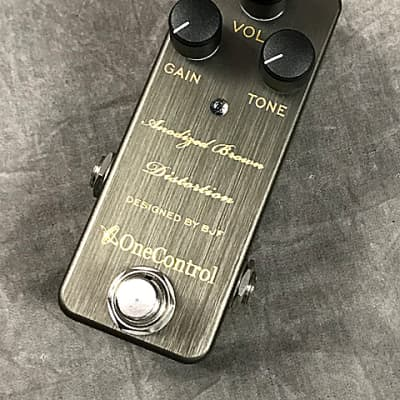 One Control Anodized Brown Dis