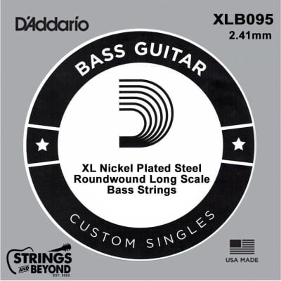 D'Addario XLB095 Single Bass String