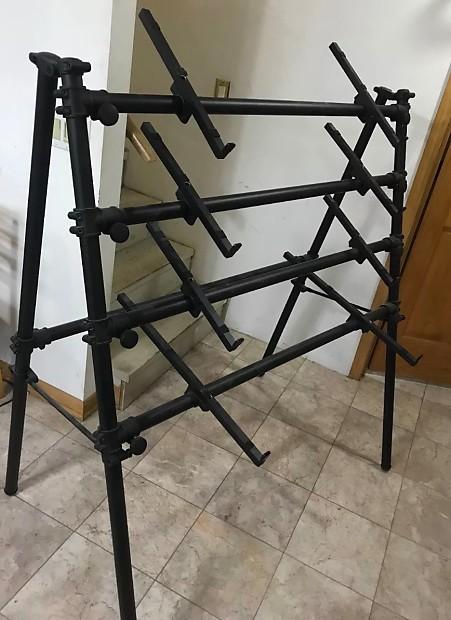 jaspers 4d 120b black 4 tier keyboard stand 50 l x reverb