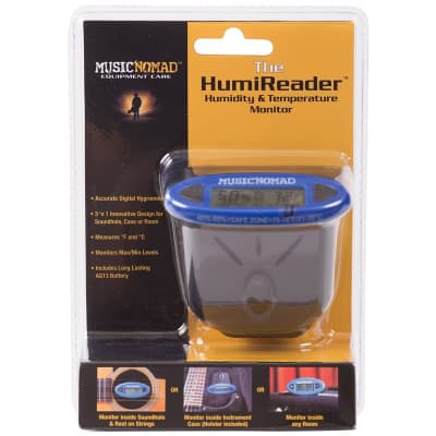 Music Nomad Humireader Humidity & Temperature Monitor