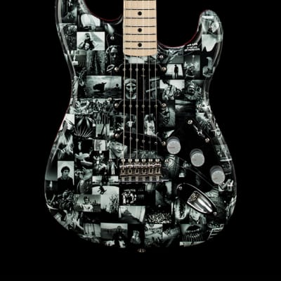 Fender Custom ShopDennis Galuszka Masterbuilt Andy Summers Monochrome Stratocaster - Black #06850 for sale