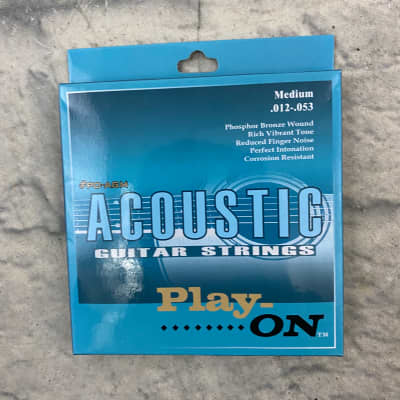Play On 53-12 Acoustic Guitar Strings