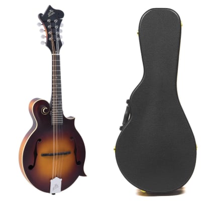 The Loar LM-590 Contemporary F-Style Mandolin +  Hardshell Archtop Case