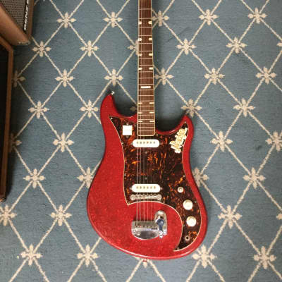 Norma EG 470-2 1960's Red Sparkle for sale