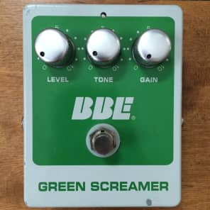 BBE Green Screamer Overdrive Pedal