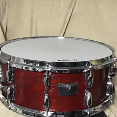 Yamaha Yamaha 6X14 Rock Tour Custom Drum Red Red
