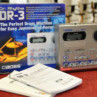 Boss DR3 Drum Machine Dr. Rhythm with Box, Insert & Manual DR-3 - Free Shipping!
