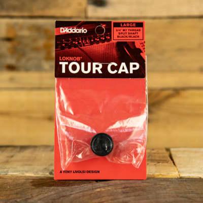 D'Addario LokNob Tour Cap M7 Large - Black