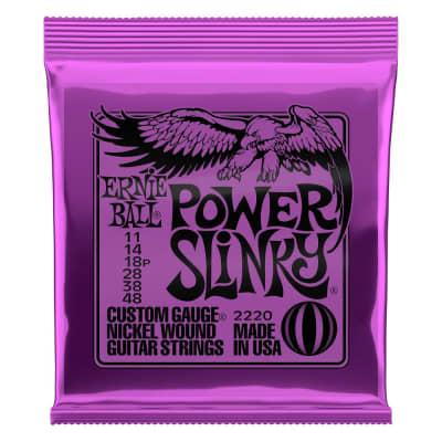 Ernie Ball 2220 Power Slinky Nickel Wound Electric Guitar Strings