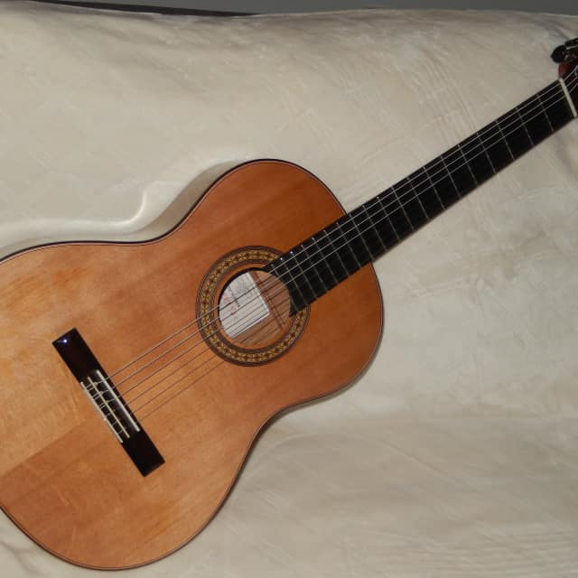 "WONDERFUL ""EL VITO"" CONCERT YJC - HAND MADE ALL SOLID WOODS CLASSICAL GUITAR image"