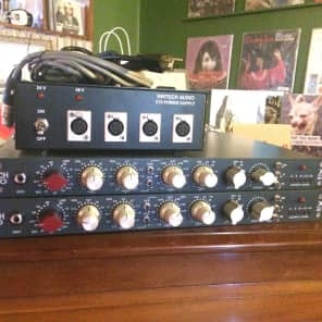 Vintech Audio X81 Mic Pre EQ Pair w/ PSU