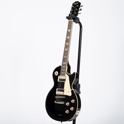 Epiphone Les Paul Classic Electric Guitar - Ebony for sale