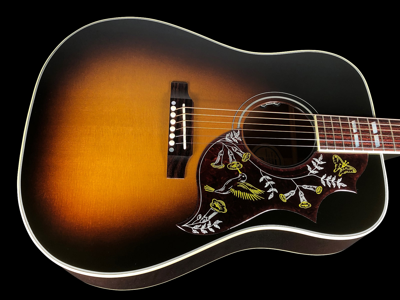 2019 Gibson Hummingbird Standard w Built-in LR Baggs ~ Vintage Sunburst
