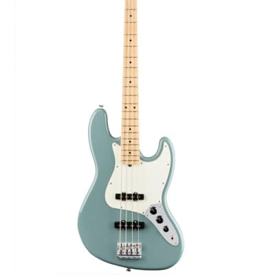 Fender American Professional Jazz Bass - Sonic Gray w/ Maple Fingerboard for sale
