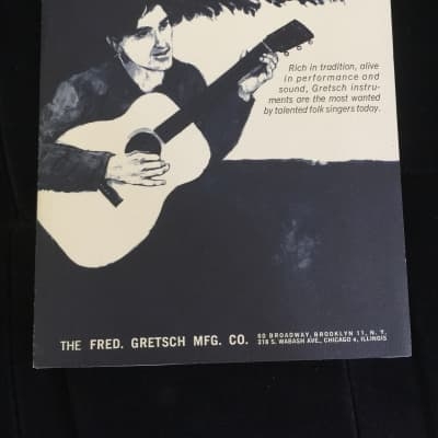 Gretsch Acoustic Guitars and Bacon Banjos Catalog