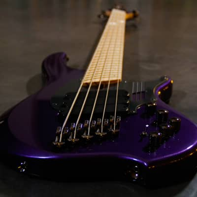 Dingwall  NG3 'NOLLY' SIGNATURE 5 STRING 2019 metallic purple gloss for sale
