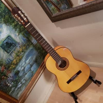 Antonio Hermosa AH-15  Flamenco guitar + case for sale
