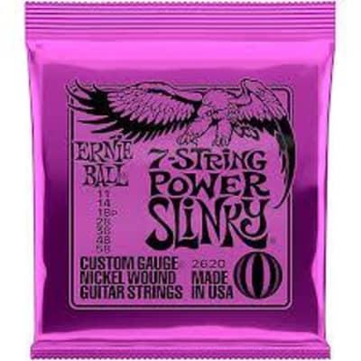 Ernie Ball 2620 7 String Power Slinky