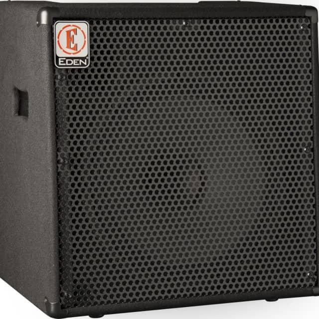 "Eden Amplification EC15 15"" 180W Bass Amplifier Black image"