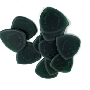 Dunlop Guitar Picks JUMBO FLOW Standard 12 Pack Primetone 2.0mm