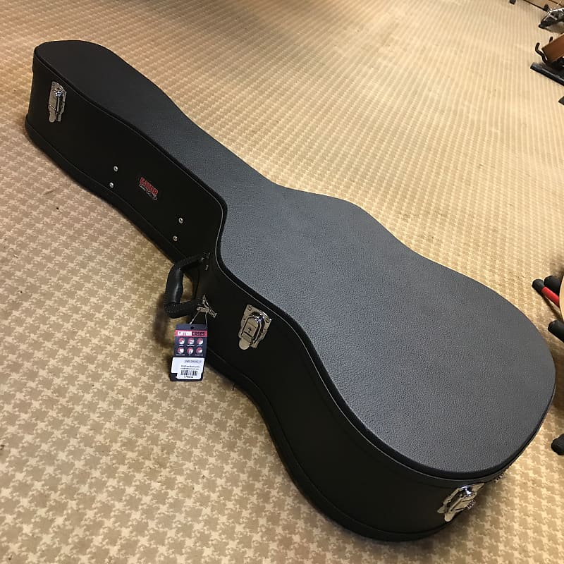 Gator GWE-DREAD 12 Dreadnought / 12-String Acoustic Guitar Hardshell Case Black