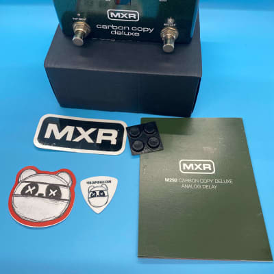 MXR M292 Carbon Copy Deluxe Analog Delay w/Original Box | Fast Shipping!