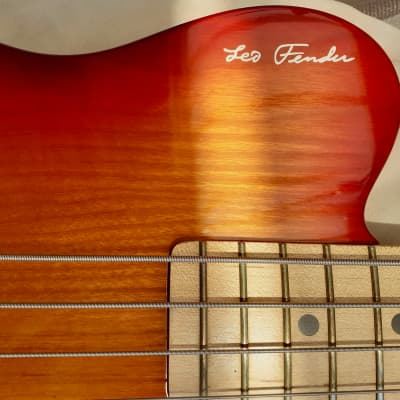 G&L USA Leo Fender Signature Bass  1991, made in the year Leo Fender died.- Free WW Shipping